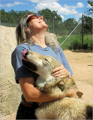 Jane and Wolf Pup